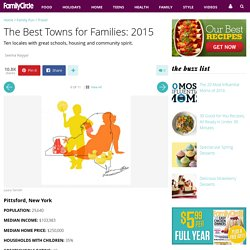 The Best Towns for Families: 2015