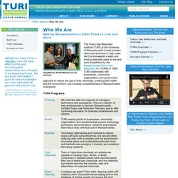 TURI (Toxics Use Reduction Institute)