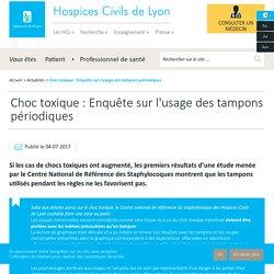 Choc toxique : Enquête sur l'usage des tampons périodiques