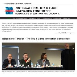 Toy and Game Inventor Conference - Home