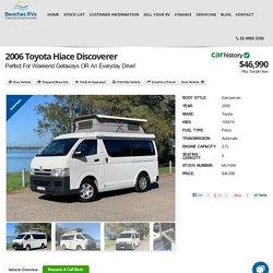 2006 Toyota Hiace Discoverer