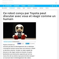 Ce robot conçu par Toyota peut discuter avec vous et réagir comme un humain