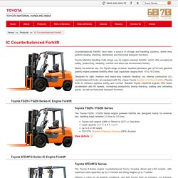 Toyota Engine Forklift