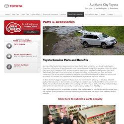 Toyota Car & Auto Spare Parts Auckland