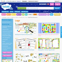 Toys Lego Primary Resources - Primary Resources - Page 2