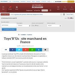 Toys'R'Us : site marchand en France