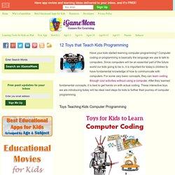 12 Toys that Teach Kids Programming