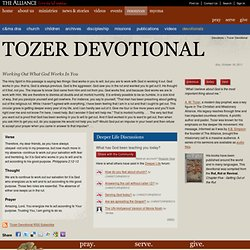 Tozer Devotional