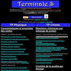 TP Terminale S