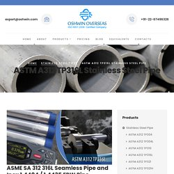 316l Stainless Steel Pipe Supplier