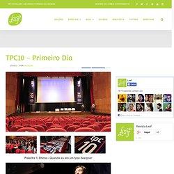 As várias formas do Design » TPC10 – Primeiro Dia