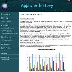 TPE Apple - réussite économique