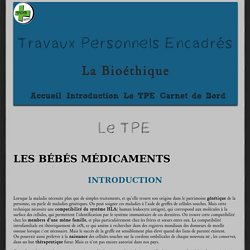 TPE-Bioéthique