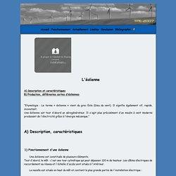 TPE - Eoliennes - Fonctionnement