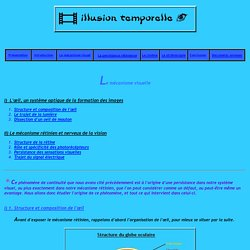 TPE : Illusion temporelle