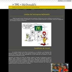 Tpe-mcdonald's - Les limites