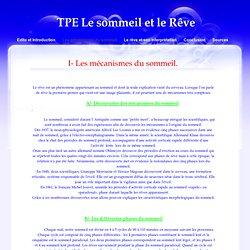 TPE Le sommeil et le Rêve > Les mécanismes du sommeil