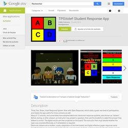 TPSVote!! Student Response App