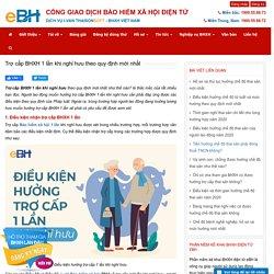 Trợ cấp BHXH 1 lần khi nghỉ hưu theo quy định mới nhất