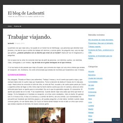 El blog de Lachentti