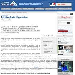 Trabajo estudiantil y prácticas > Espagne
