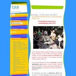 T.P.P.: EL TRABAJO POR PROYECTOS Y LA METODOLOGÍA AICLE o CLIL