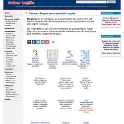 ESL Games - Juegos de palabras para aprender o practicar inglés - Trabalenguas, adivinanzas, chistes, puns, jokes, anagrams, riddles, tongue-twisters