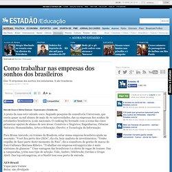 Como trabalhar nas empresas dos sonhos dos brasileiros