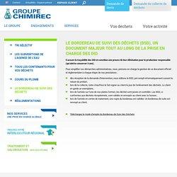 Bordereau et traçabilité des déchets industriels dangereux par Chimirec