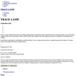 TRACE LAMP / mercurybureau