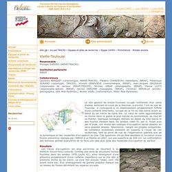 TRACES : UMR 5608 - Vieille-Toulouse