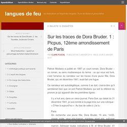 Sur les traces de Dora Bruder. 1 : Picpus, 12ème arrondissement de Paris