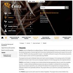 EVIRA – TRACES