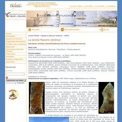 TRACES : UMR 5608 - La Grotte Mandrin (Drôme)