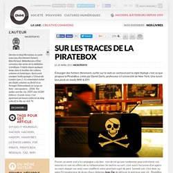 Sur les traces de la PirateBox