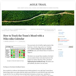 How to Track the Team's Mood with a Niko-niko Calendar » Agile Trail