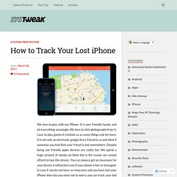 How to Track Your Lost iPhone – Systweak Software Blog