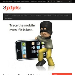 Track Mobile Using IMEI