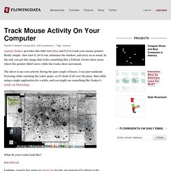 Track Mouse Activity On Your Computer