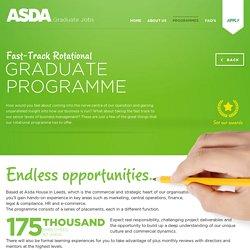 Fast-Track Rotational : Asda Graduates