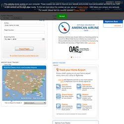 US Real Time Flight Tracker
