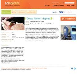 Cicada Tracker on SciStarter