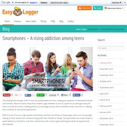 Teen Tracker App: Cell Phone monitoring and tracking