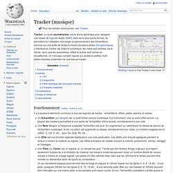 Tracker (musique)