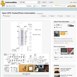 Open GPS Tracker(Photo Instructable) - All