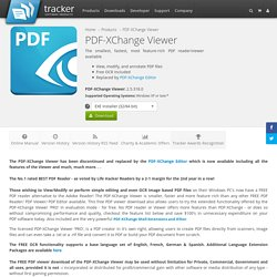 PDF-XChange Viewer, Free PDF Reader