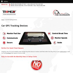 Car GPS Tracking Device - Tramigo GPS