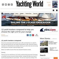 12 yacht trackers compared to help you choose the right unit for your voyage - Page 2 of 2 - Yachting World