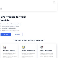 Real-Time GPS Tracking Devices with Software