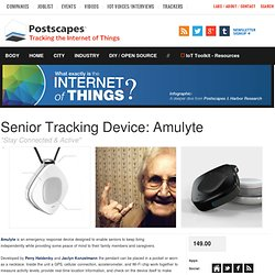Senior Tracking Device: Amulyte